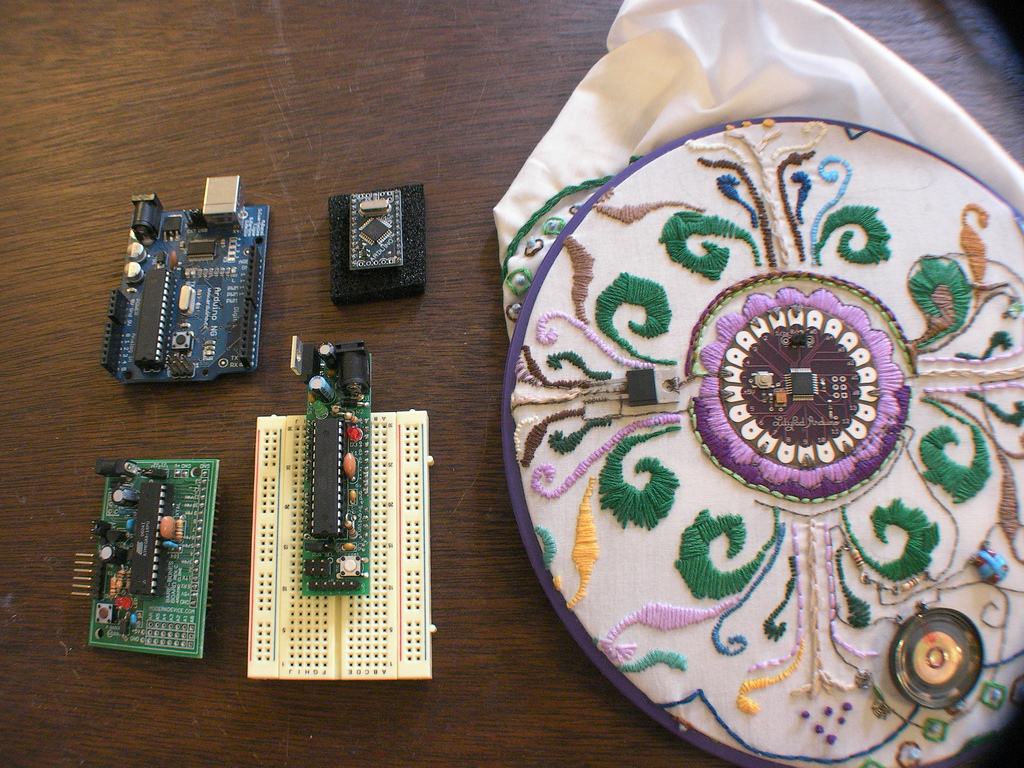 arduionos and lily pad