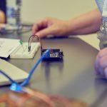 lysdioder tilsluttet elektronsik kredsløb
