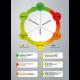 designprocesmodel med forklaring med grå baggrund