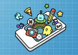 Illustration af ressourcen App Lab, hvor man kan konstruere Apps til mobiltelefoner