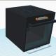 3D modellering af et komfur