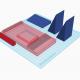 3D tegning af elementer, der skal printes på en 3D printer og samles til en mobilholder