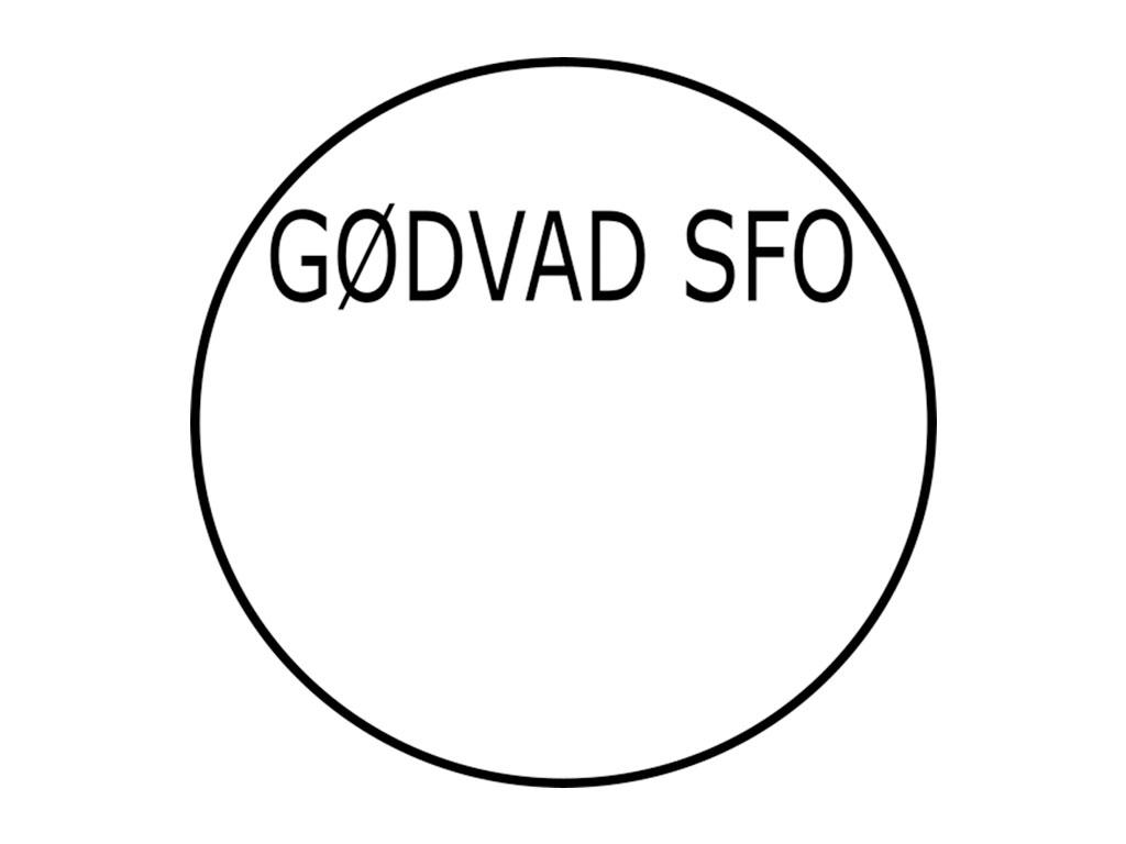 cirkel med teksten GRØNVAD SFO