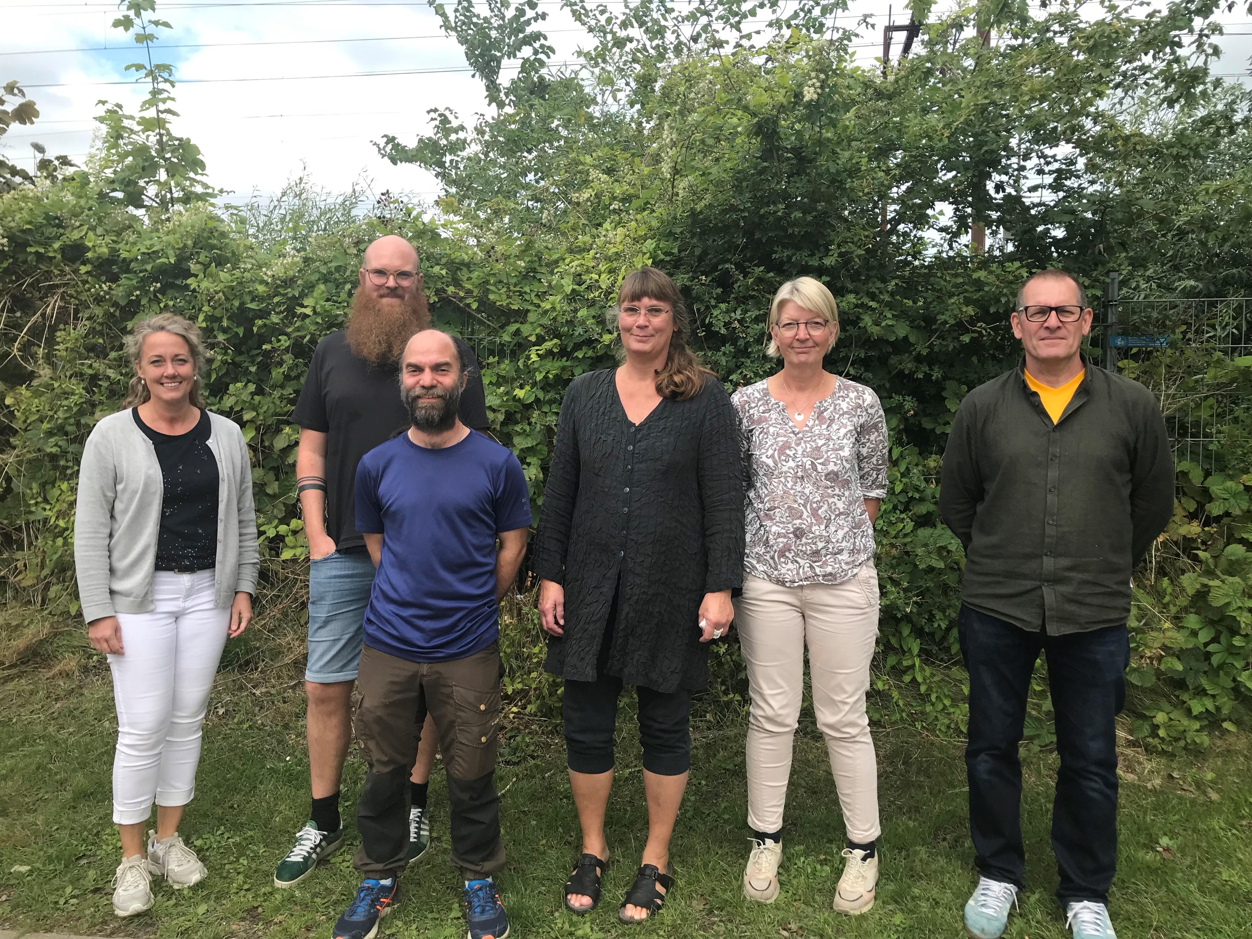 6 pionerer fra Middelfart